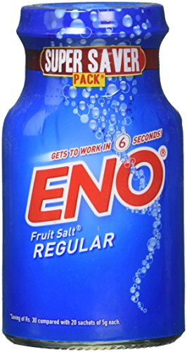 ENO Sal de frutas espumoso Antacid Original 100g (regular, 3 unidades)