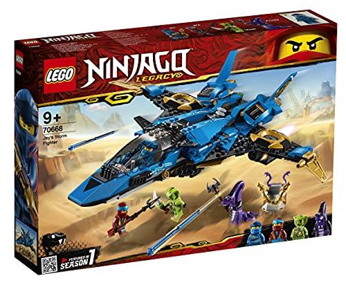 LEGO Ninjago - Caza Supersónico de Jay, set con avión de juguete de...