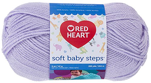 Red Heart Soft Baby Steps Yarn, Lavender