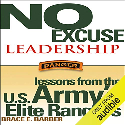 No Excuse Leadership audiobook cover art