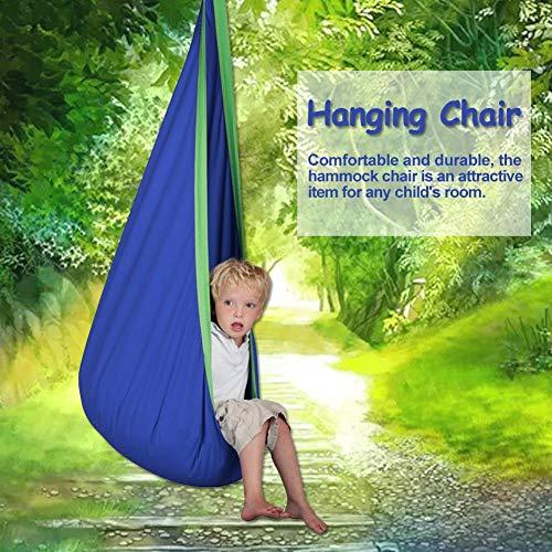 terynbat Hanging Chair,hanging Chairs For Bedrooms Child Pod Swing Chair Tent Nook Indoor Outdoor Hanging Seat Hammock Kids cost-effective way