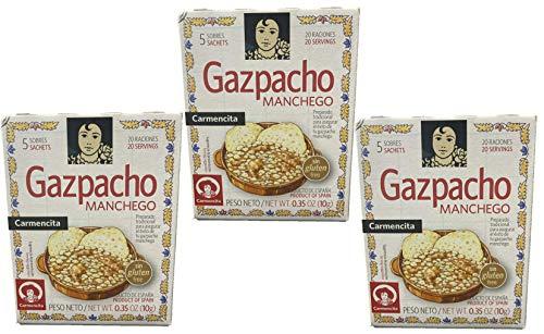 Carmencita Especias Gazpacho Manchego 10 gr. - [Pack 3]