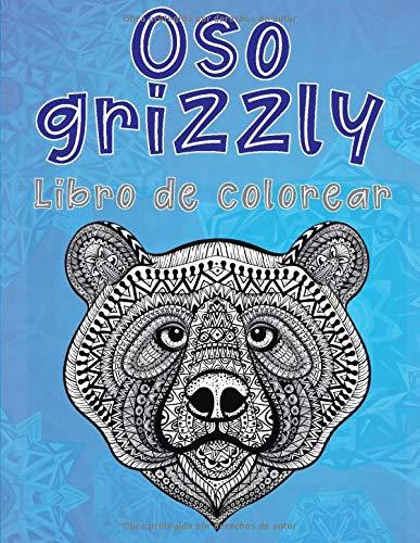 Oso grizzly - Libro de colorear