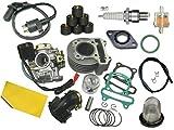 UNTIMERO Cilindro CARBURADOR Kit Set para ZHEJIANG G2 50 4T hasta2017