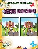 Encuentra las Diferencias para niños de 3-9 años: Busca y encuentra, entre dos imágenes con respuestas, Libro de actividades para niños buscar objetos.