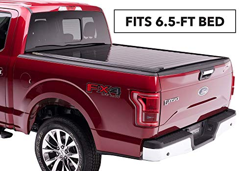 PowertraxPRO Retractable Truck Bed Tonneau Cover   50472   fits Chevy & GMC 6.5' Bed (14-18), 1500 Legacy/Limited (2019) & 2500/3500 (15-19) Wide RETRAX Rail