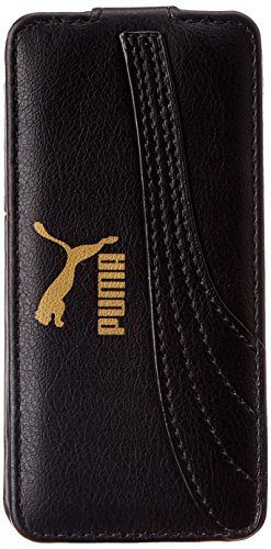 PUMA Handy Tasche Bytes Phone Cover, Black-Black, 12.8 x 1.4 x 6.3 cm, 052546 01