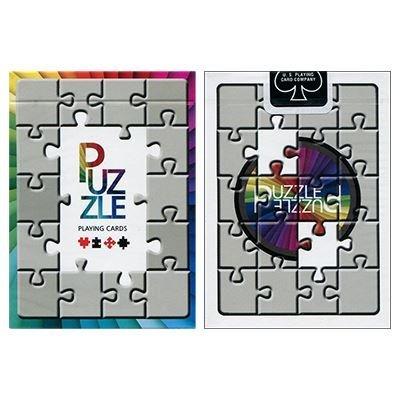 Puzzled Cartes à jouer par US Playing Card Co