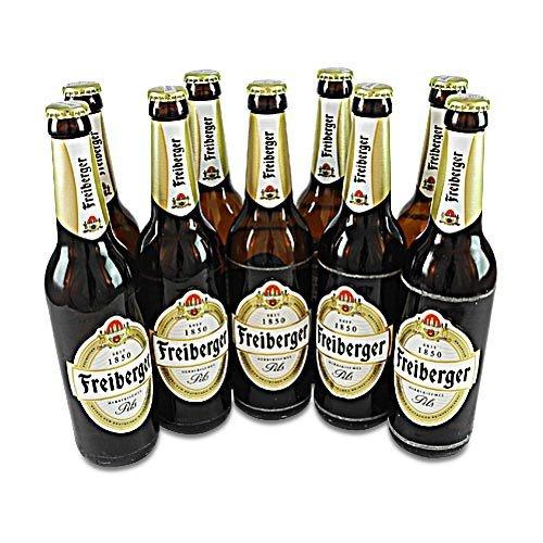 Freiberger Pils (9 Flaschen à 0,5 l / 4,9% vol.)