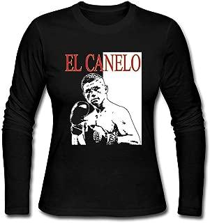 Womens Brooklyn Steel Men's Saul Alvarez El Canelo Mexico Champion Boxing Long Sleeve