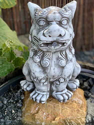 Steinfigur Chinesischen Löwe Wächterlöwe Frostfester Wasserspeier