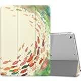 MoKo Funda para 2018/2017 iPad 9.7 6th/5th Generation - Ultra Slim Función de Soporte Protectora Plegable Smart Cover - elPescaylaBegonia (Auto Sueño/Estela)