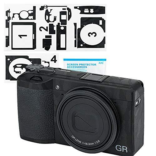 Pellicola protettiva antigraffio per fotocamera Ricoh GR II – 3M Adesivi Decalcomanie Guard Film DSLR fotocamera Shield Protector Foil - Ombra Nero