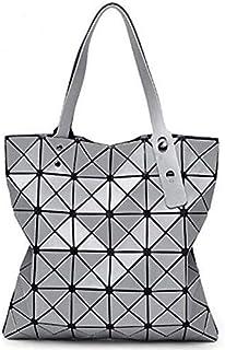 DXYZ Womens Boa Boa Laser Cut Shoulder Foldable Handbag for Travel Office College