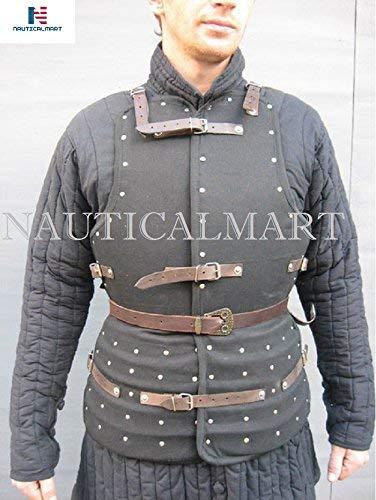 NASIR ALI Corazzina Italian Brigandine Medieval Armor Costume
