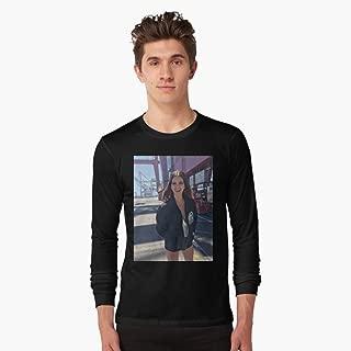 Lana Del Rey Norman Baise Rockwell Tshirt Manches Longues Customized Handmade T-shirt 100% Cotton.