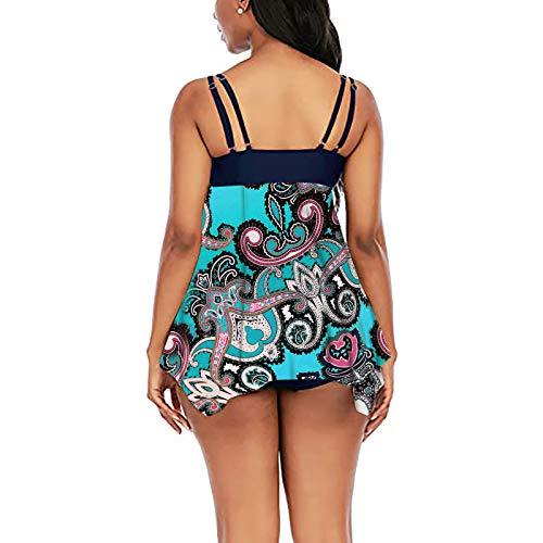Traje De BañO De Talla GrandeWomen Sexy Soild Print Bikini Set Push Up Bathing Swimwear High Waist Swimsuit