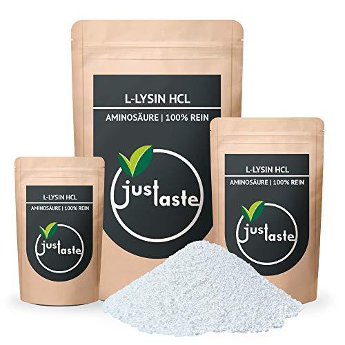 L-Lysin HCL Pulver | GRÖSSENAUSWAHL | 100% rein | Nahrungsergänzung | Aminosäure (1 kg)