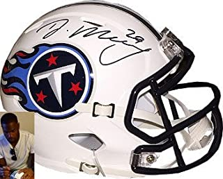 DeMarco Murray Signed Autograph Tennessee Titans Riddell Speed Mini Helmet #29- Murray Hologram