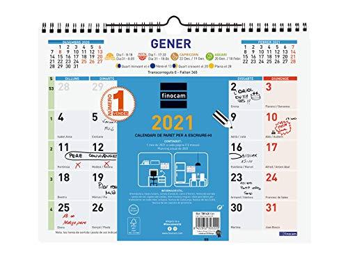 Calendarios Grandes para Escribir Marca Finocam