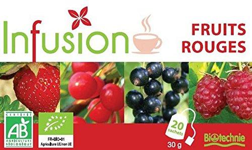Biotechnie Infusion Frutos Rojos 20 Filtros Bio 20 Filtros 100 g
