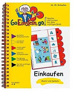 Übungsbuch 10 DIN A 5 'Einkaufen' - Muster und Symbole stabile Qualität Die gelben Hefte schaffen Grundlagen für Wahrnehmung und Konzentration. Verbunden mit einer einfachen Selbstkontrolle, schafft Sicherheit und Selbstvertrauen. Jede Aufgabe hat ei...