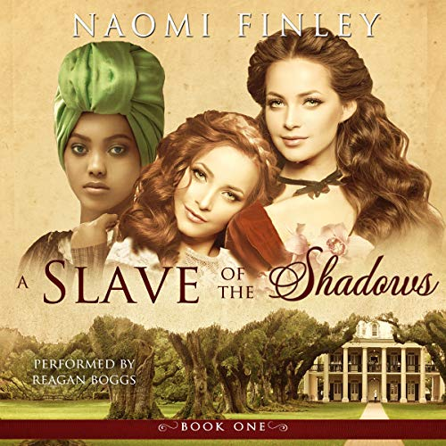 A Slave of the Shadows audiobook cover art