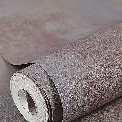 TRER Industriële wind-behang grijs Nordic normaal lak-behang bruikbaar voor kledingzaak-decoratie