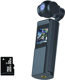 Eセレクト ポジカメ(32GB microSD セット) 4K録画 手ブレ補正 3軸 ジンバル ポケット カメラ 日本語説明書付 【安心のメーカー直営】