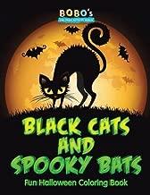 Black Cats and Spooky Bats Fun Halloween Coloring Book