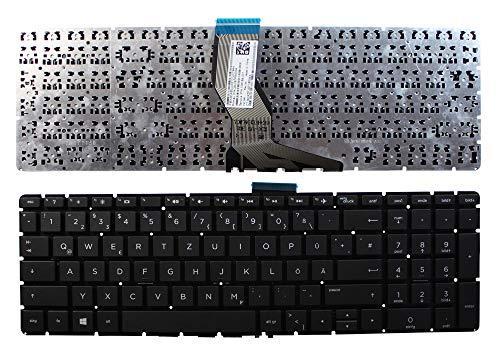 Keyboards4Laptops HP Home 15-bs504ns Negro Windows 8 Layout Alemán Teclado de...