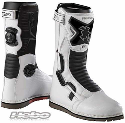 HEBO Bota Trial Tech Comp. Blanco. Talla 42