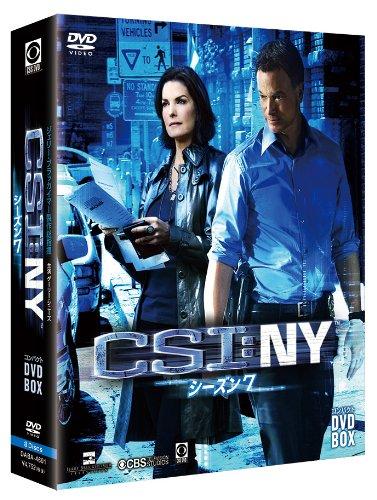 TV Series  Csi: Ny Season7 Compact DVD Box 8DVDS Japan DVD DABA4601