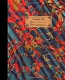 Composition Book: Quaderno esercizi americano vintage a quadretti 5 mm 100 pagine - copertina morbida