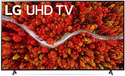 """LG LED Smart TV 75"""" Real 4K UHD TV, Native 60Hz Refresh Rate, Apps Enabled, Voice Commands, Bluetooth, Wi-Fi, USB, Google/Alexa - 2021"""