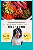 Homemade Dog Food Cookbook BARF Diet Over 40 Recipes (English Edition)