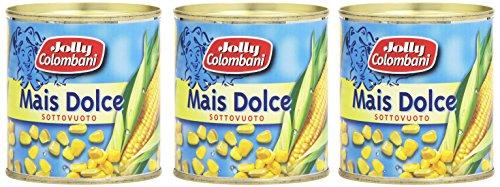 Jolly Colombani - Mais , Dolce, Sottovuoto - 160 g