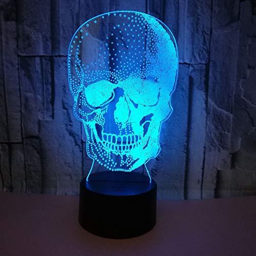 3D LED nachtlampje 7 kleuren voor het vervangen van Xenon hologram Halloween glijboek kerstcadeau voor kinderen
