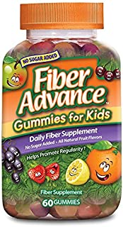 FiberAdvance for Kids Gummies, 60 Count (Pack of 3)