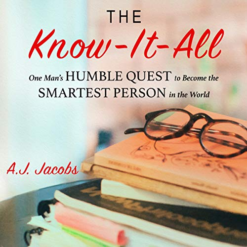 The Know-It-All audiobook cover art