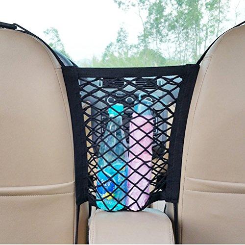 vorcool Auto Sitz Net Fahrzeug Seat Pet Barrier Stauraum Mesh Zaun Kleinteile Organizer