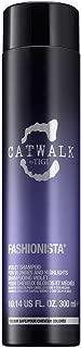 TIGI Catwalk Fashionista Shampoo for Unisex, Violet, 10.14 Oz, ()