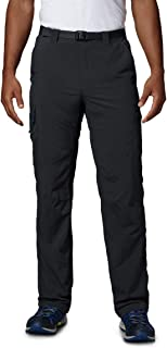 Columbia Sportswear Men's Silver Ridge Cargo Pant, Black, 48 x 34
