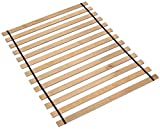 Ashley Furniture Signature Design - Frames and Rails Roll Slats - Full Size - Component Piece - Contemporary Living - Brown