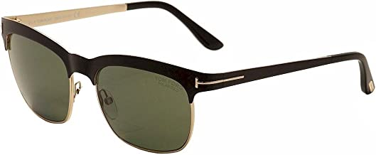 Tom Ford Sunglasses TF 437 Elena 05R Black Gold 54mm