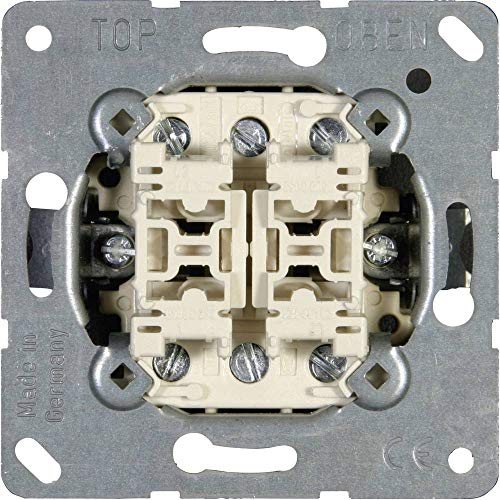 Jung Einsatz Doppel-Wechselschalter LS 990, AS 500, CD 500, LS Design, LS Plus, FD Design, A 500, A Plus, A Creation, C