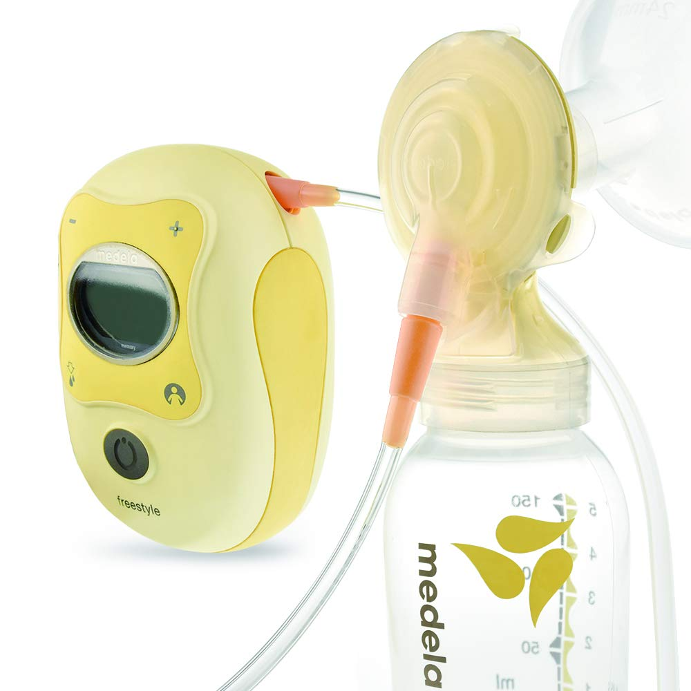Maymom Tubing Set Compatible with Medela Freestyle Breastpump but NOT Freestyle Flex; Compatible with Medela Freestyle Pump; Also Suitable for Spectra S1 S2 Pumps to use Freestyle Flange Connectors