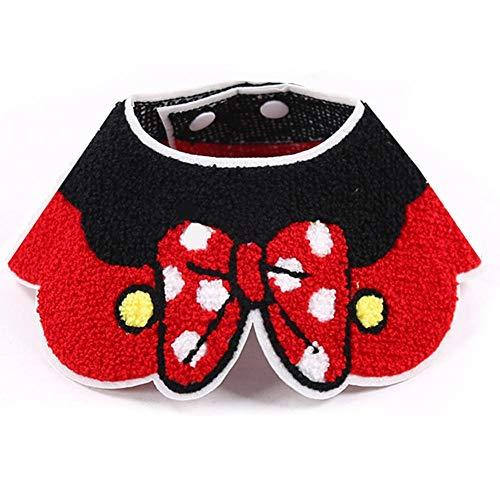 Seasons Shop Bandana voor honden, sjaal, halsdoek, driehoekig, verstelbaar, slabbetjes, katten, huisdieren, scarf, dieraccessoires, schattige accessoires