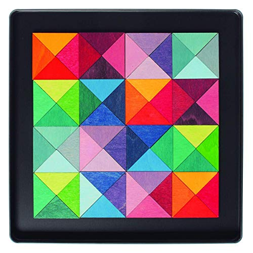 Grimms Spiel und Holz Design Mini-Magnetspiel Triangle