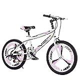 YUCHEN- Bicicletas for niños Bicicleta de montaña Bicicleta de montaña al aire libre Niños Variable Velocidad \ u200b \ u200biciclo Adecuado for niños y niñas Bicicleta for niños Viajes Bicicleta Bici